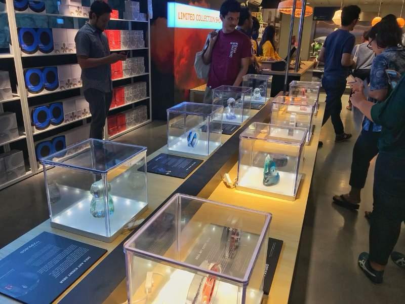 Area khusus untuk penjualan koleksi terbatas yang disebut dengan Limited Collection Shop di lower entrance toko IKEA Alam Sutera, Tangerang. (Foto : Dok. IKEA)