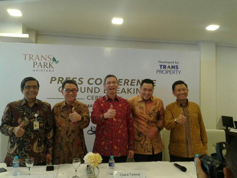 Transpark Bintaro Mulai Dibangun