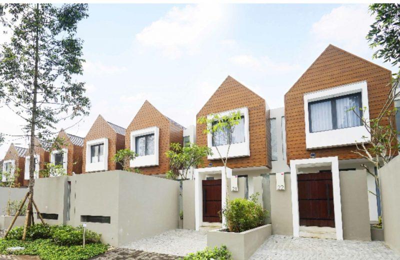 Komplek Harris Villa di Kota Malang, Jawa Timur, yang disebut berstandar hotel bintang empat seluas 120 m2 per unit berisi dua kamar tidur. (Foto: Dok. Harris Hotel)