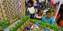 Salah satu proyek apartemen kelas menengah yang ditawarkan dalam sebuah pameran properti di Jakarta baru-baru ini. (Foto: dok HousingEstate)