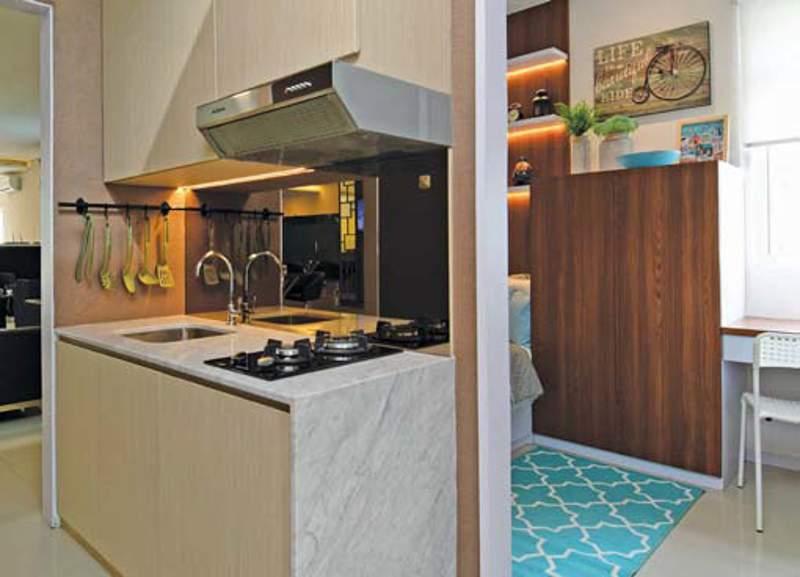 Desain Interior Kamar Tidur Utama 4x3  gaya asyik moderen klasik