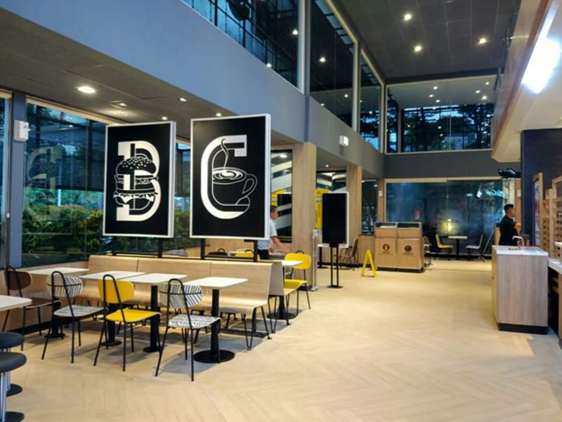 Konsep baru Global Design diterapkan dalam gerai McDonald's Indonesia untuk meninggalkan image restoran cepat saji (foto: dok. McDonald's Indonesia)