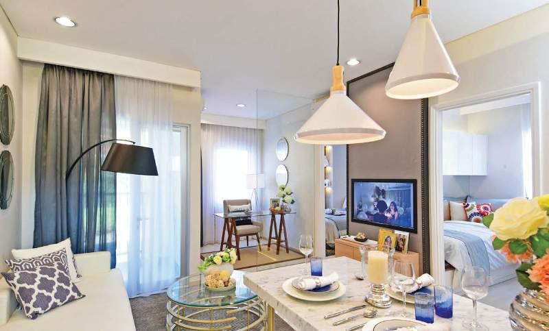 Desain Dapur Merah Hitam  penerapan desain cerdas pada apartemen