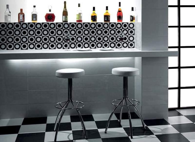 Desain Dapur Merah Hitam  keramik dapur kesat untuk lantai mengilat untuk dinding