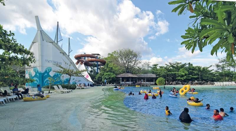Bugis Waterpark Adventure | Foto : Susilo