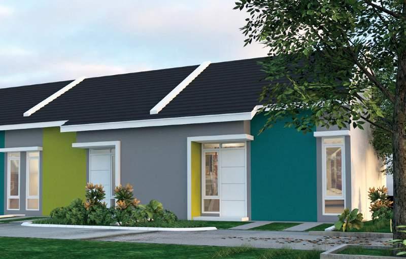 Rumah tipe 38/72 klaster BaliThai Land
