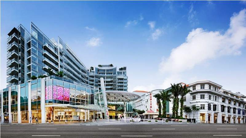 Capitol, Singapura, salah satu portofolio Perennial (foto: Perennial)