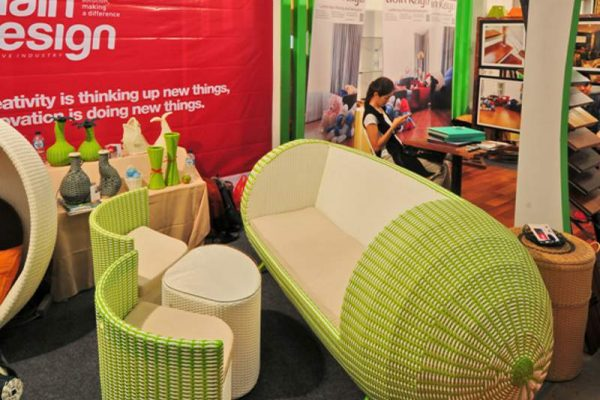 "Pameran produk interior Homedec 2018 yang mengusung tema ""For Better Home and Living"" akan berlangsung 6-9 September di Indonesia Convention Exhibition, BSD City, Tangerang-Banten (foto: HousingEstate/Susilo Waluyo)"