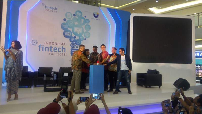 Pembukaan Indonesia Fintech Fair 2018 di Jakarta, Jum'at (13/7/2018). (Foto: dok housing-estate.com)