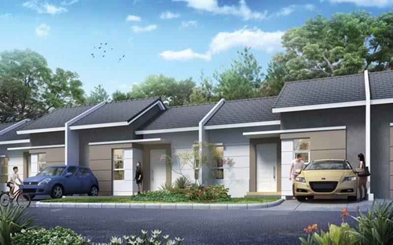 Gambar tipe rumah satu lantai dengan kaveling 7x10 m2 di Srimaya Residence, Narogong, Bekasi (Jawa Barat), perumahan baru yang akan dipasarkan Summarecon secara resmi pada Agustus mendatang (foto: dok. Summarecon Agung)