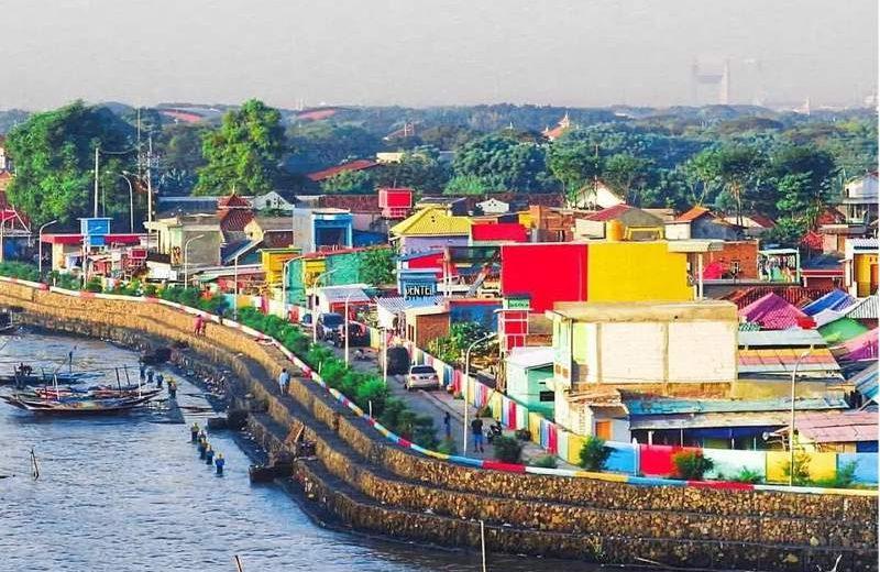 Kampung Kenjeran, Surabaya. (Foto: dolandolen.com)