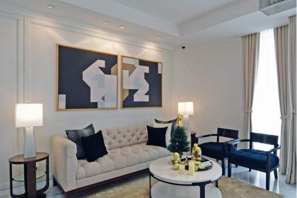Lokasi: Show unit Apartemen The Lana, Alam Sutera, Serpong, Tangerang Selatan, Banten Luas: 149 m2 (tiga kamar tidur) Desainer Interior: Juliani Muljawan