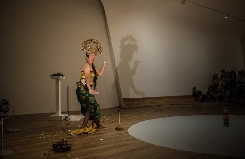 Arahmaiani, Handle Without Care (1996 - 2017), penampilan di Museum MACANpada 2017