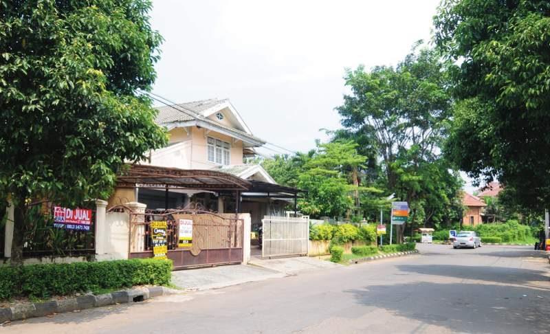 Rumah Seken di Pondok Indah (Foto : Susilo)
