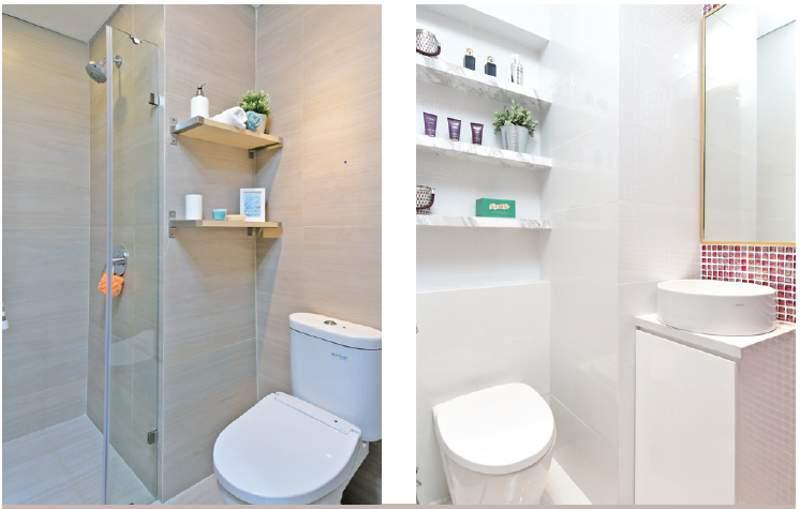 tempat simpan kamar mandi