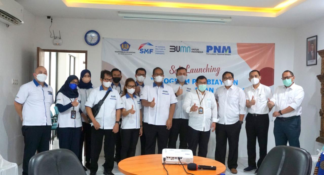 HOME SMF Dan PNM Luncurkan Pembiayaan Mikro HOME